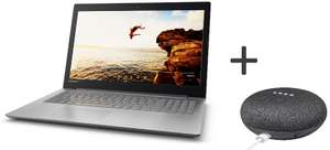 "Sélection de PC portables en promotion - Ex : PC Portable 15.6"" Lenovo IdeaPad 320-15IKBN - HD, i5-7200U, 4 Go RAM, 1 To HDD, GT 920MX, Windows 10 + Google Home mini"