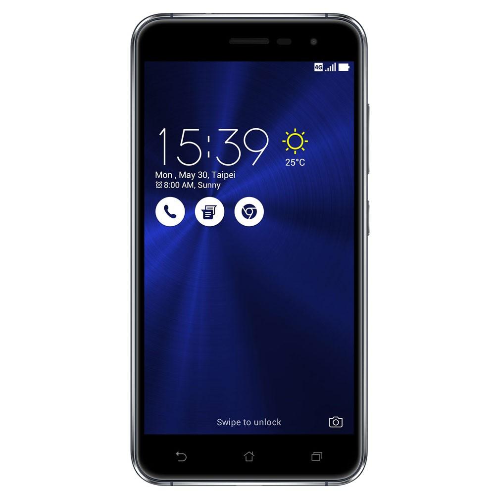 "Smartphone 5.2"" Asus Zenfone 3 ZE520KL - Full HD, Snapdragon 625, 4 Go RAM, 64 Go ROM, Double SIM"