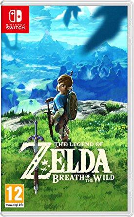 Zelda Breath Of the Wild sur Switch (+2.75€ en SuperPoints - Boîte Anglaise/Jeu FR)