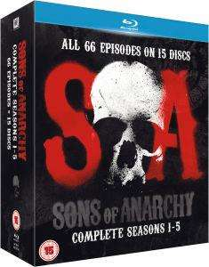 Coffret Blu-ray Sons of Anarchy Saisons 1 à 5