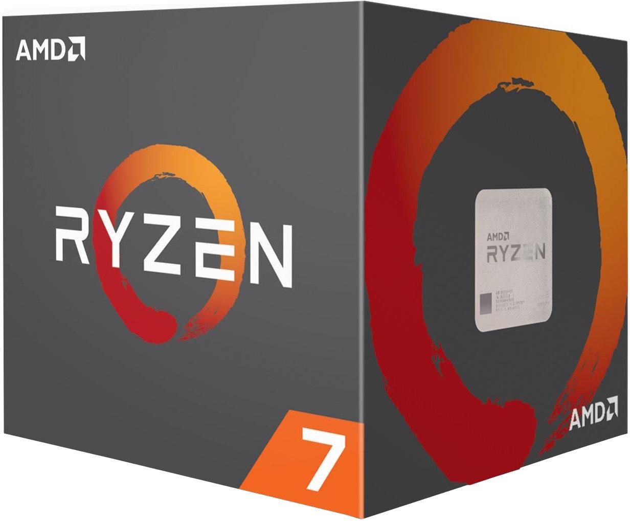 Processeur AMD Ryzen 7-1700 - 3.7 GHz, socket AM4, ventilateur Wraith Spire