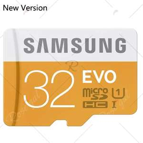 Carte Micro SDHC Samsung EVO Classe 10 (jusqu'à 48 Mo/s) - 32 Go