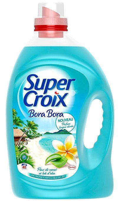 Bidon de lessive Super croix - variétés au choix (via BDR et 5.67€ fidélité)