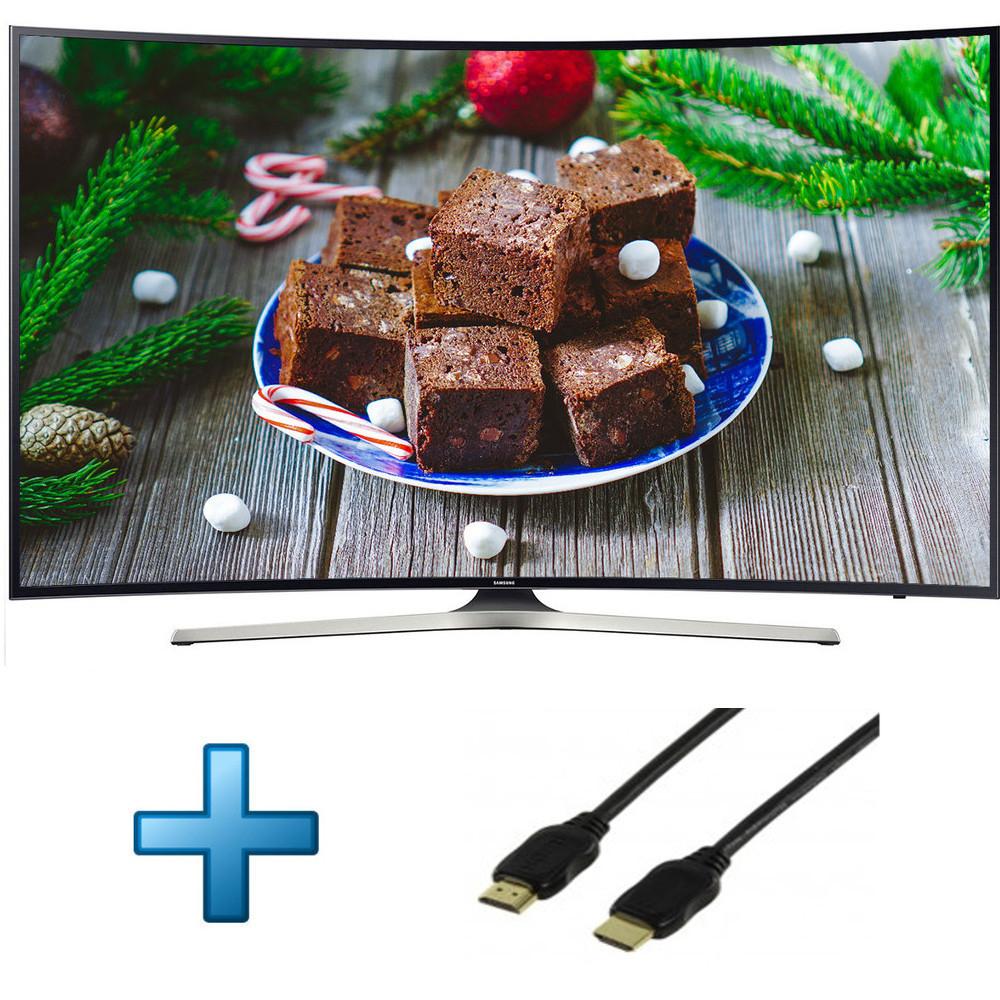 "TV 49"" Samsung 49MU6292 - LED, Incurvée, 4K UHD, HDR, Smart TV + 1 câble HDMI"