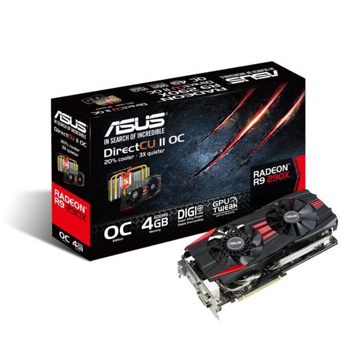 Carte graphique Asus Radeon R9 290x 4Go