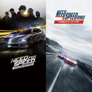 [Membres PS+] Pack Deluxe Need for Speed + Deluxe Need for Speed Rivals sur PS4 (Dématérialisé)