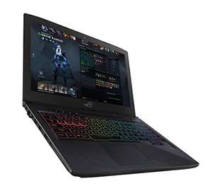 "PC portable 15.6"" full HD Asus ROG Strix Hero Édition MOBA (GL503VM-GZ128T) - 120 Hz, i5-7300HQ, GTX-1060, 8 Go de RAM, 1 To + 128 Go en SSD, QWERTY + Sea of Thieves"