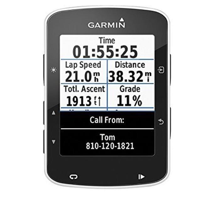 Compteur GPS de vélo connecté Garmin Edge 520 - Analyse du pédalage