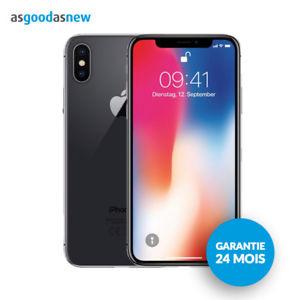 "Smartphone 5.8"" Apple iPhone X - 64Go, Gris sidéral"