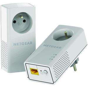 Pack de 2 CPL Netgear PLP2000-100FRS - 2 Gigabit