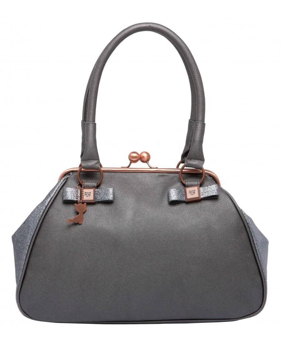 Jusqu'à 50% de réduction sur une sélection de sacs, chaussures, petite maroquinerie et bijoux - Ex : Sac à main détails pailletés gris à 49,50€ - Lollipops.fr