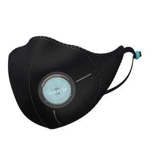 Masque anti-pollution Xiaomi Mijia AirPop - Anti particule fines (PM2.5) - Noir ou Blanc