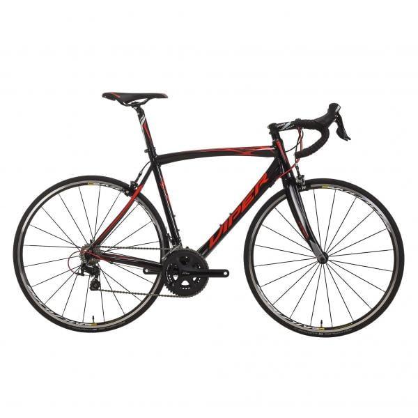 Vélo de Course Viper Stelvio Shimano (2017) 105 5800 34/50 - Rouge/Noir