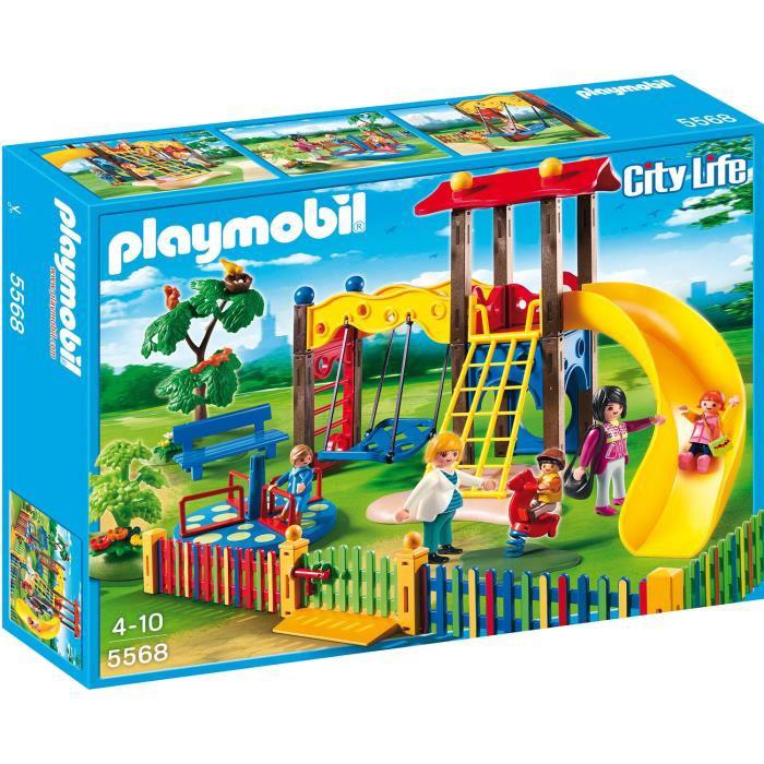 Playmobil 5568 Square pour enfants avec jeux