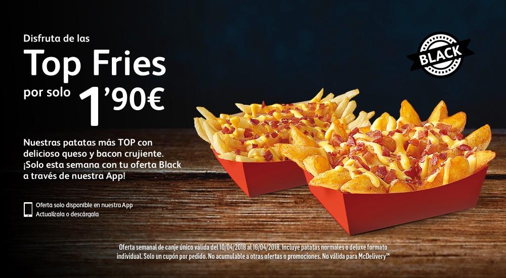 Sélection d'offres promotionnelles - Ex : Barquette de Frites Top Fries à 1,90 € (Frontaliers Espagne)