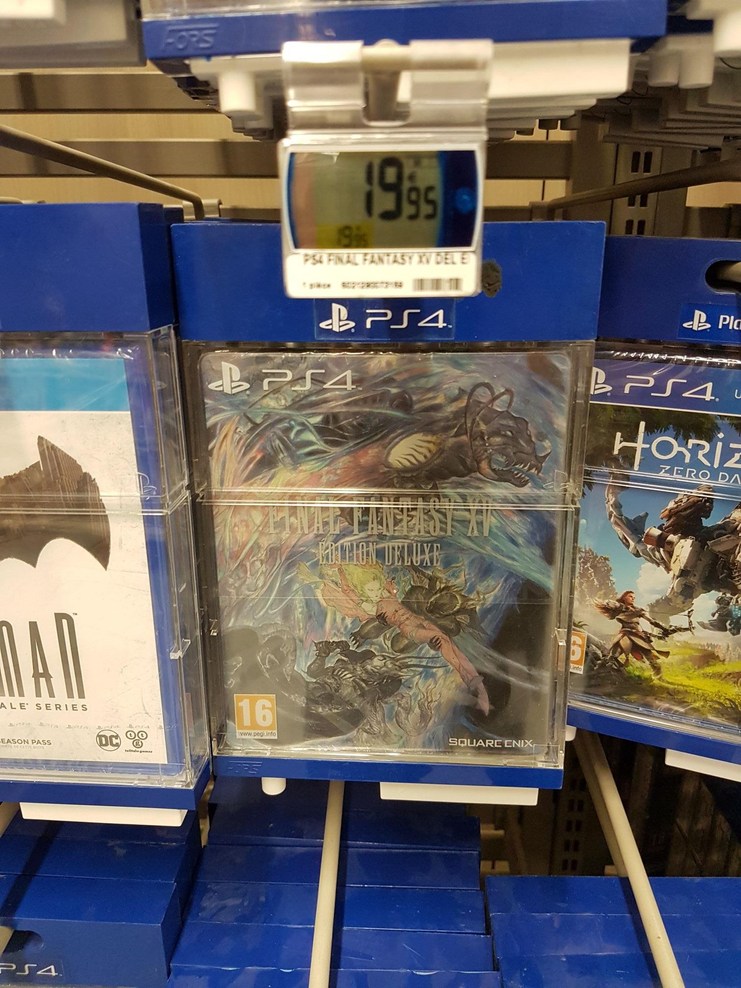 Final fantasy XV édition deluxe sur PS4 - Noisy Le Grand (93)