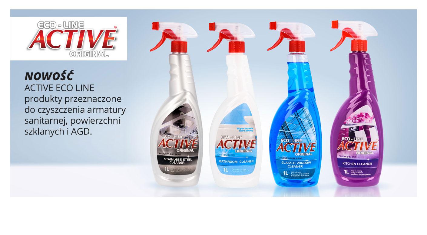 Nettoyant Ménager Eco Line Active Original (Variétés au choix) - 1L