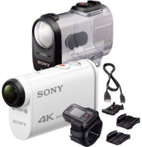 Caméra sportive Sony HandyCam FDR-X1000VR - 4K UHD (montre de pilotage RM-LVR2 + caisson étanche SPK X1 inclus)