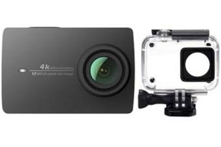 Caméra sportive YI (Noir) - 4K 30 fps / 1080p 120 fps, 12 MP + Boitier étanche