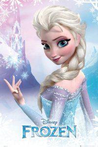 Poster La reine des neiges 61 x 91cm