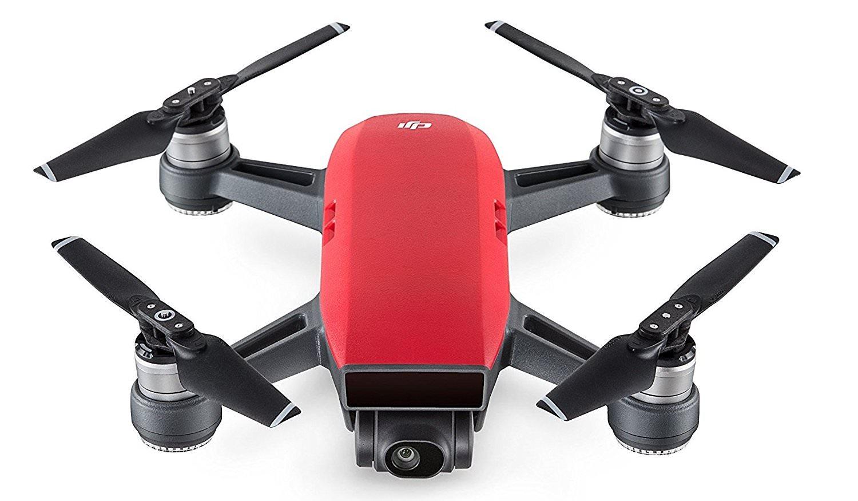 Drone Quadricoptère DJI Spark (Rouge) - WiFi FPV, Caméra Full HD / 12 MP