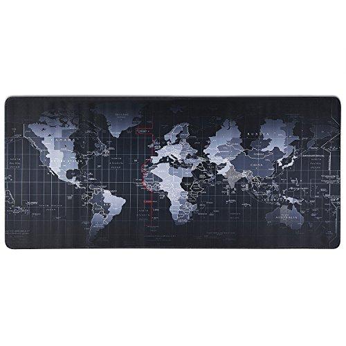 Tapis de souris Gaming XXL - Carte du monde - 900 x 400mm (Vendeur tiers)