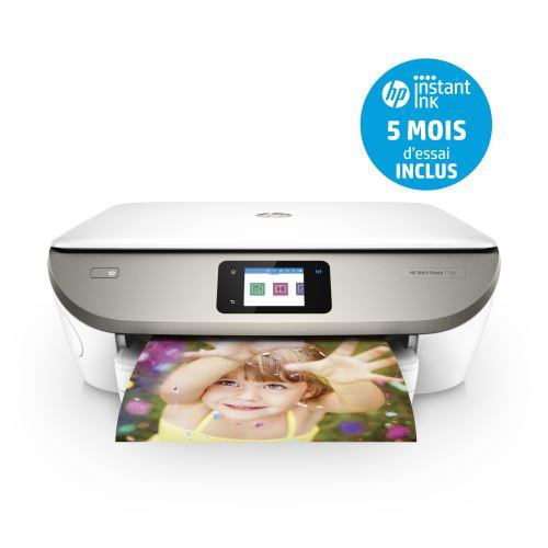 Imprimante Multifonction HP Envy Photo 7134 - Jet d'encre, Couleur, Wi-Fi, Numérisation, Recto/Verso automatique + 5 mois Instank Ink (via ODR de 30€ + 10€)