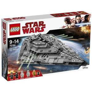 Jeu de construction Lego Star Wars 75190 - First Order Star Destroyer