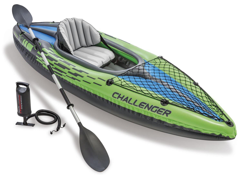 Canoë kayak gonflable Intex K1 Challenger - 1 place + rames