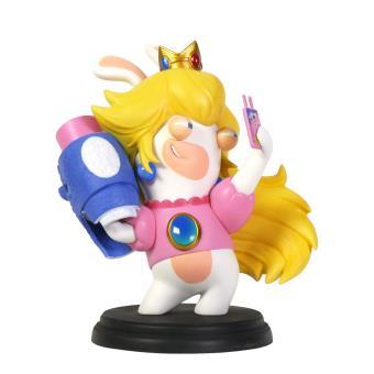 Sélection de figurines Mario et les lapins crétins en promotion - Ex: Figurine Mario et Les Lapins Crétins Kingdom Battle Peach 15 cm
