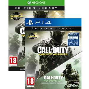 Call of Duty Infinite Warfare Legacy Edition (Modern Warfare Remastered inclus) sur PS4 ou Xbox One