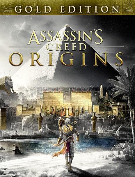 Assassin's Creed Origins - Gold édition sur PC (dématérialisé - Uplay)