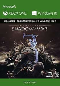 Middle-Earth: Shadow of War sur Xbox One / PC Windows 10 (Dématérialisé)