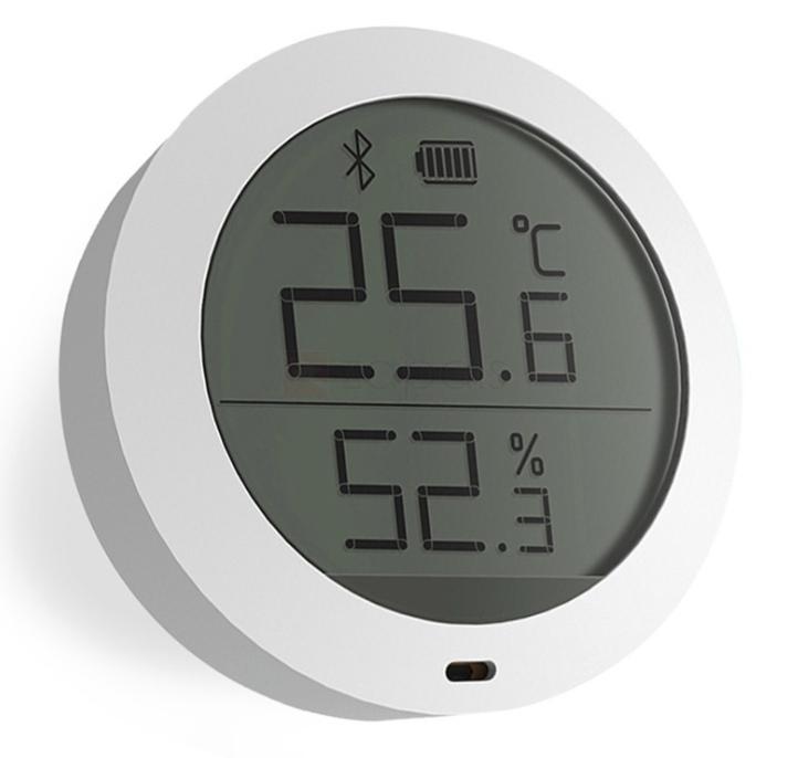 Capteur de température et d'humidité Xiaomi Mijia Thermostat - Bluetooth, Ecran LCD (Pile non incluse)