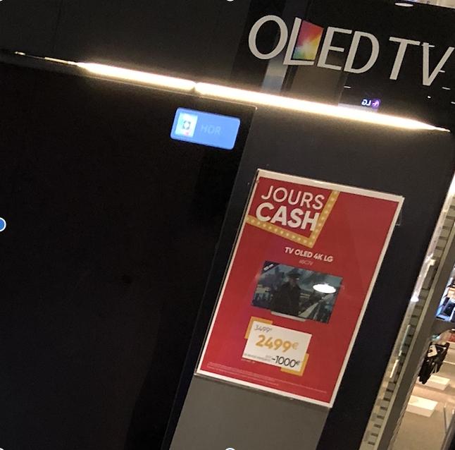 "TV 65"" LG C7 Series OLED65C7V - OLED, 4K, Smart TV - Velizy (78)"