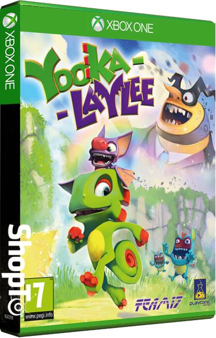 Yooka Laylee + Yooka-Laylee Photocartes sur Xbox One
