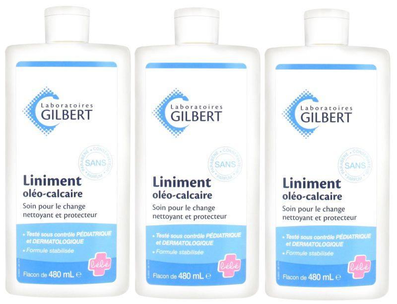 Lot de 3 Liniment Gilbert - 480ml