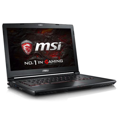 """PC Portable 14"""" MSI GS43VR 7RE-086FR - i7-7700HQ, 16 Go de Ram, SSD 256go, 1 To, GeForce GTX 1060 6GO"""