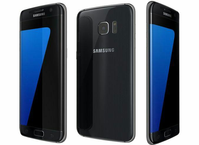 """Smartphone 5.5"""" Samsung Galaxy S7 Edge (Coloris au choix) - 32 Go (Via ODR 70€)"""