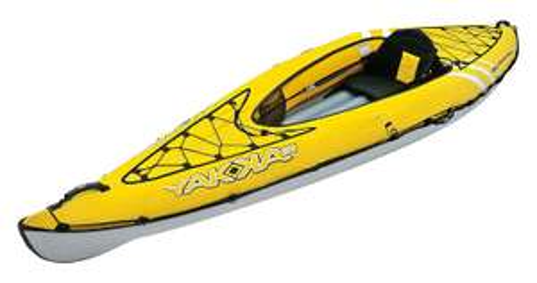 Kayak Gonflable Bic Sport Yakkair Lite 1 (One) + Pompe Yakkair Bic Sport offerte