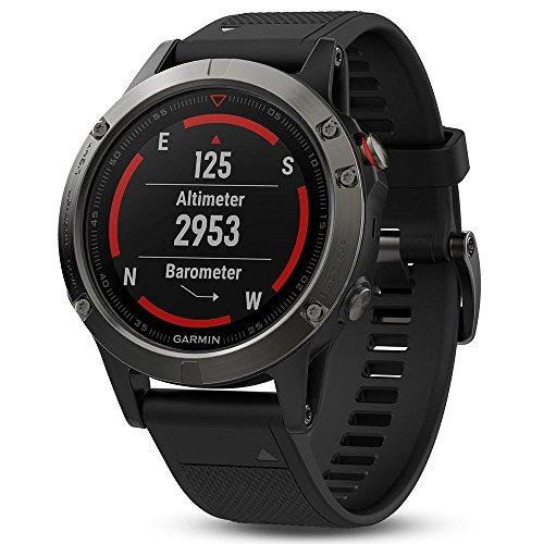 Montre GPS Garmin Fenix 5 - Noire et grise