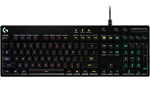 Clavier mécanique Logitech G810 Orion Spectrum RGB
