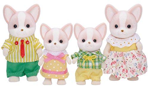 Famille Chihuahua composée de 4 petites poupées Sylvanian Families (3149)