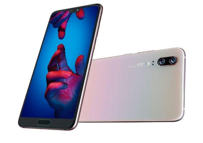 """Smartphone 5.8"""" Huawei P20 Double SIM 128 Go(Via 150€ pour la reprise de votre ancien smartphone)"""