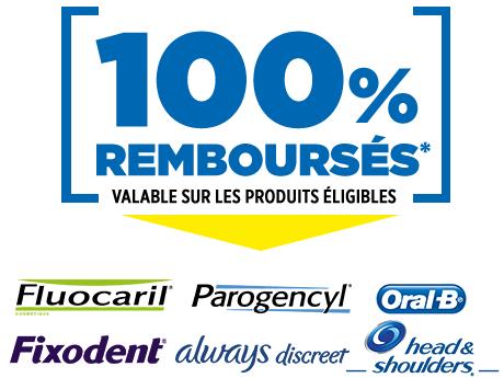 Sélection de dentifrices 100% remboursés en Pharmacie (via ODR)