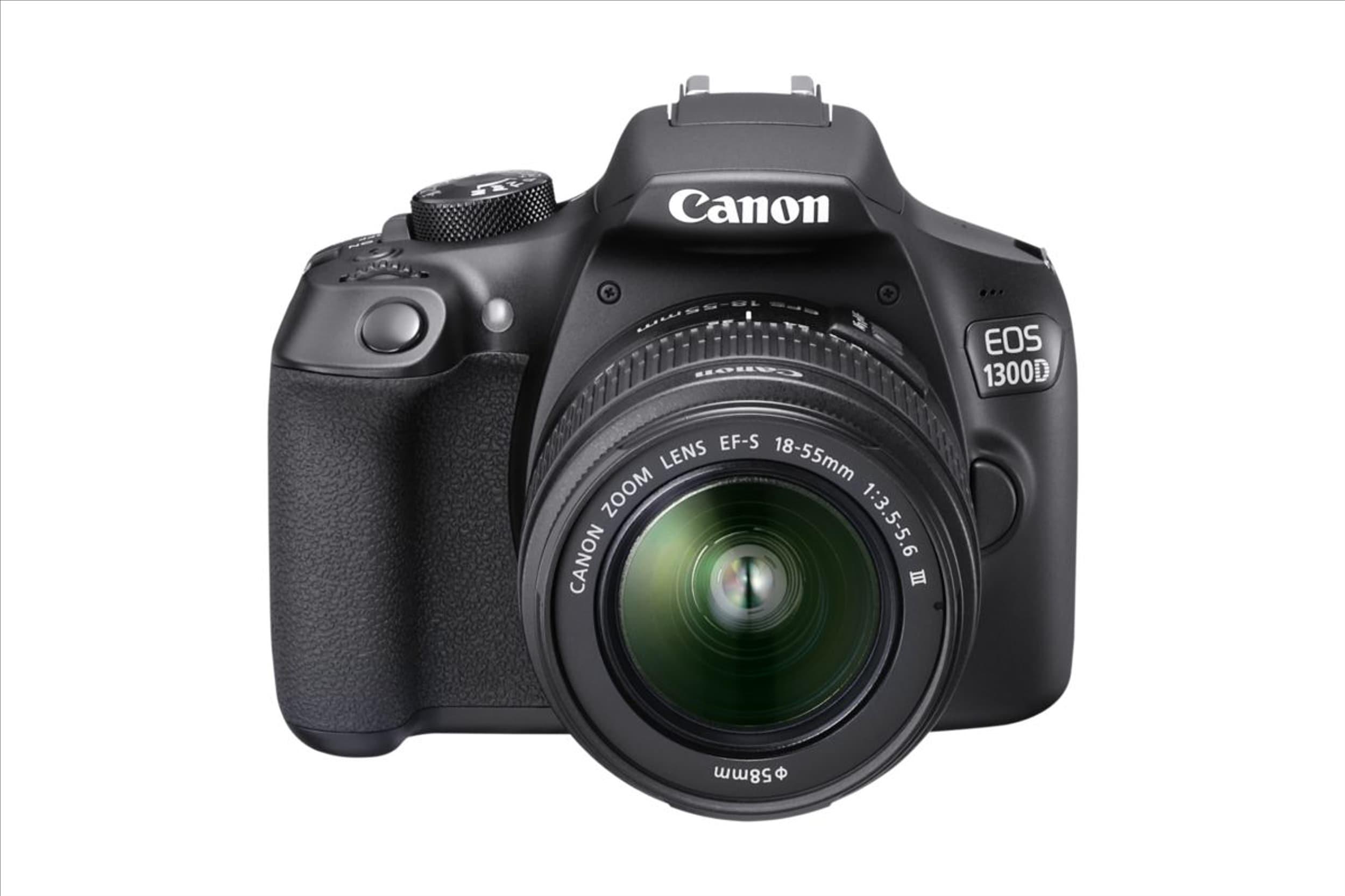 Appareil photo reflex Canon EOS 1300D + objectif EF-S 18-55mm (Frontaliers Suisse)