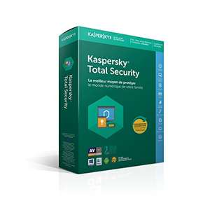 Licence Kaspersky Total Security 2018 - 5 appareils - 2 Ans