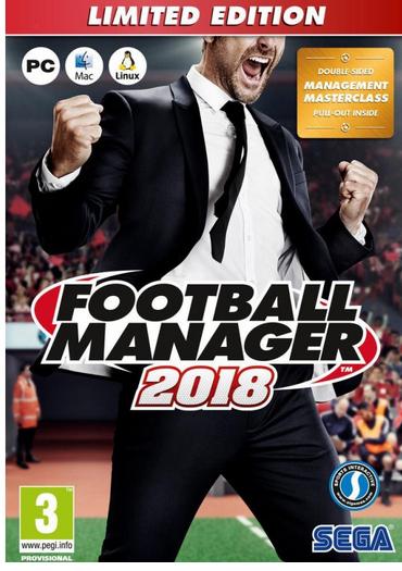 Jeu  Football Manager 2018 sur PC - édition limitée