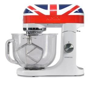 Robot pâtissier Kenwood kMix Union Jack (+ 15€ en bon d'achat)