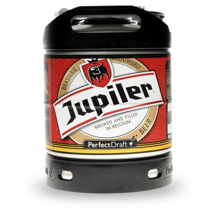 Fût de bière Jupiler Perfect Draft - 6L (via 4.35€ fidélité) - Chronodrive Massy (91)